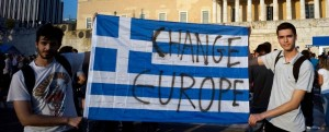 Solidarity Greece Change Europe