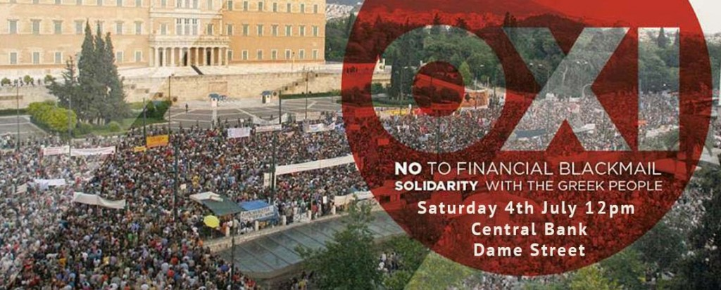 OXI March in Solidarity with Greece