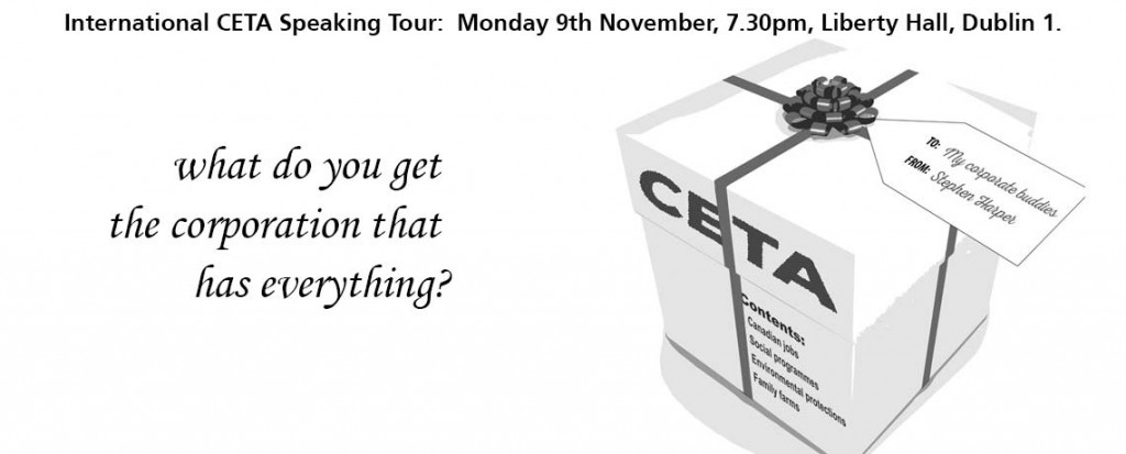 International CETA Speaking Tour