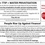 CETA = TTIP = WATER PRIVATISATION
